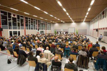 Infoveranstaltung des Dialogforums Erneuerbare Energien und Naturschutz. Foto: Alexander Gramlich