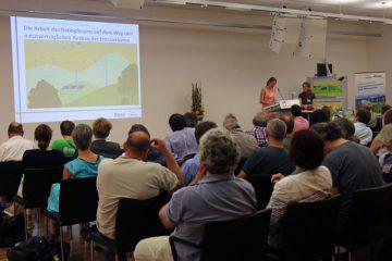 Wissenstransfer auf Infoveranstaltung und Vorträge sind eine zentrale Aufgabe des Dialogforums. Foto: Dialogforum