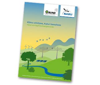 """Publikation """"Klima schützen - Natur bewahren"""""""